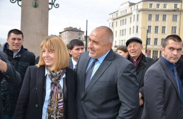 Резултат с изображение за Бойко и Фандъкова