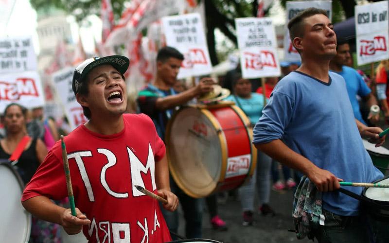 Г20 протест