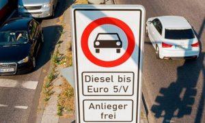Първи резултати след забраната на стари дизелови автомобили в Германия