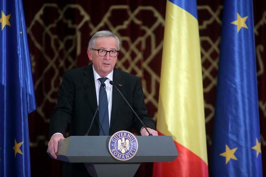 румъния председателство на ЕС Жан-Клод Юнкер