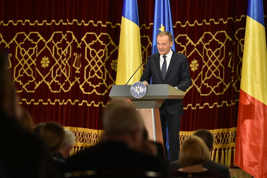 румъния председателство на ЕС Доналд Туск
