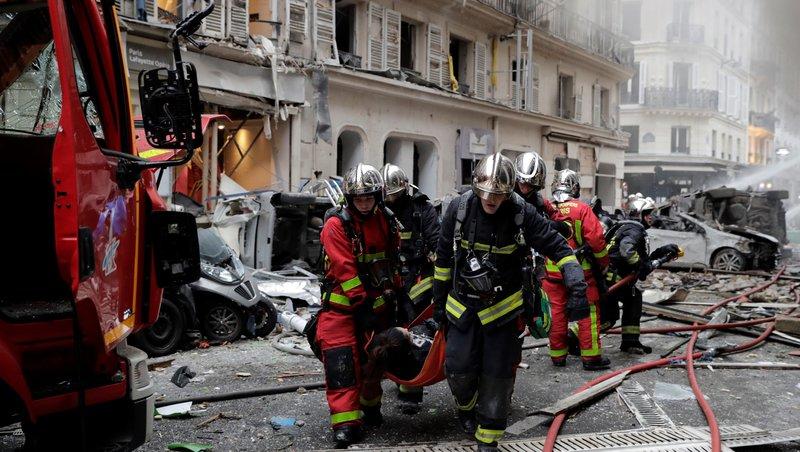 експлозия Париж