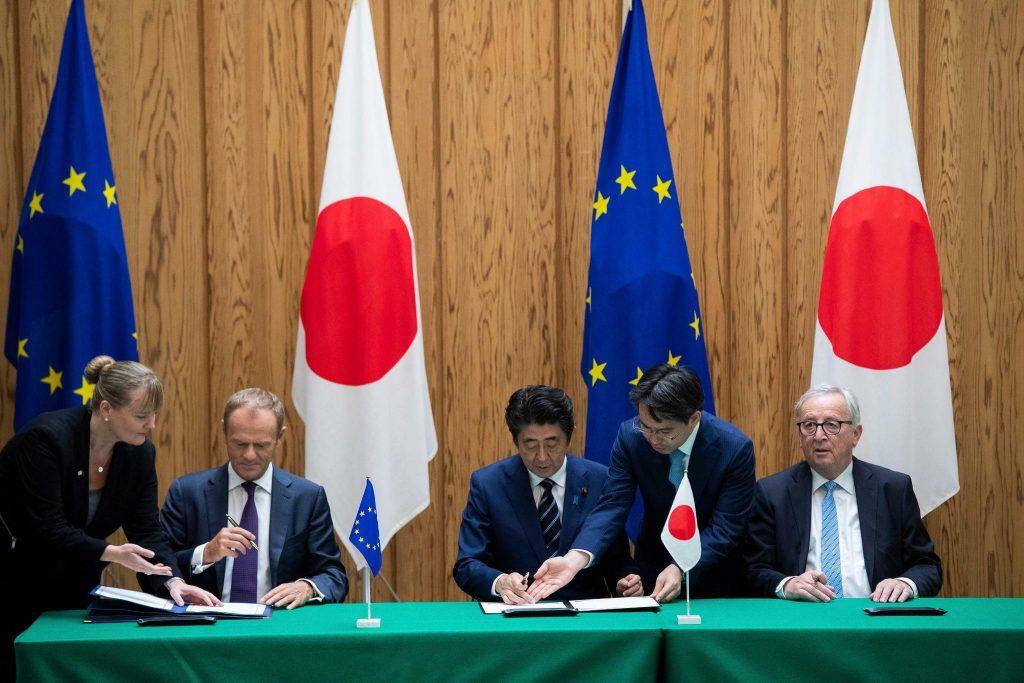 споразумение ЕС Япония