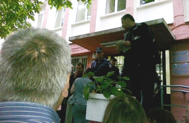 Полицейският шеф от София